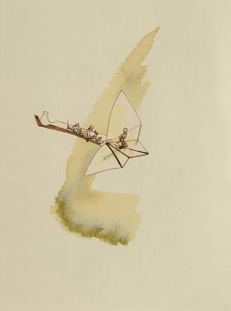 Voyage sur un cerf-volant