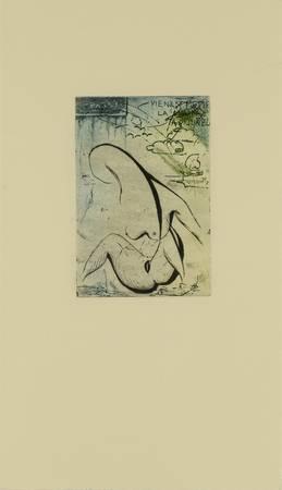 Esquisse d'une femme nue