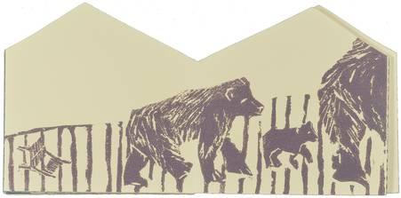 Les trois ours cherchent l'intruse