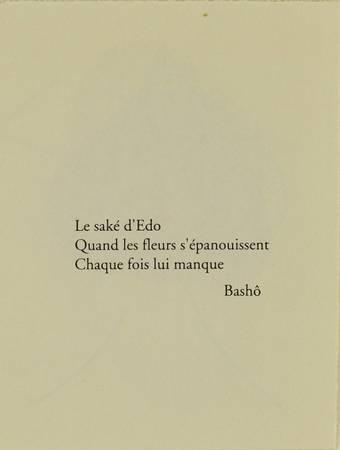 Le Saké d'Edo