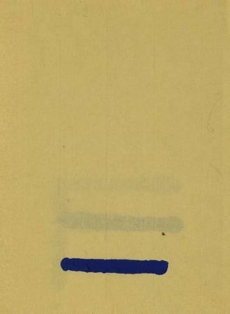 La ligne bleue horizontale