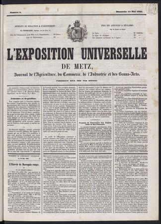 L'Exposition universelle de Metz