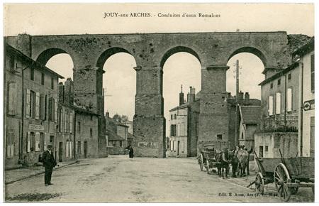 Jouy-aux-Arches - Conduite d'eaux Romaines
