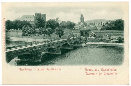 Mose'brücke - Le Pont de Thionville