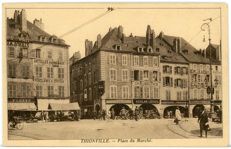Tthionville - Place du Marché