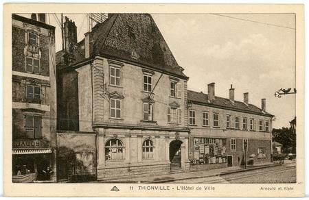 Thionville - L'Hôtel de ville