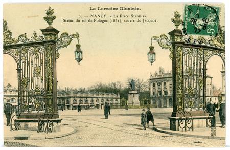 Nancy (Meurthe-et-Moselle) - La Place Stanislas