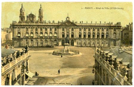 Nancy (Meurthe-et-Moselle) - Hôtel de Ville (XVIIIe Siècle)