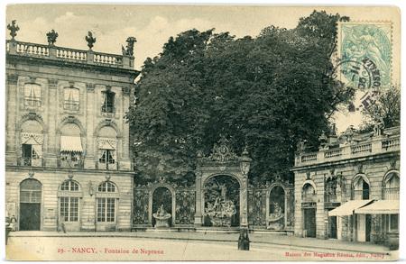 Nancy (Meurthe-et-Moselle) - Fontaine de Neptune