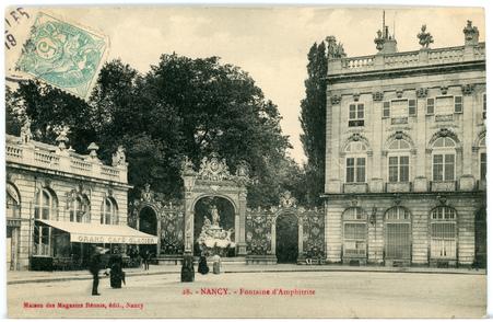 Nancy (Meurthe-et-Moselle) - Fontaine d'Amphitrite