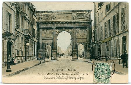 Nancy (Meurthe-et-Moselle) - Porte Stanislas
