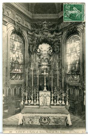 Nancy (Meurthe-et-Moselle) - Église de Bonsecours - Le Chœur