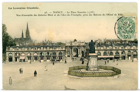 Nancy (Meurthe-et-Moselle) - La Stanislas (1755)