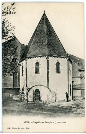 Metz (Moselle) - Chapelle des Templiers (1100 à 1250)