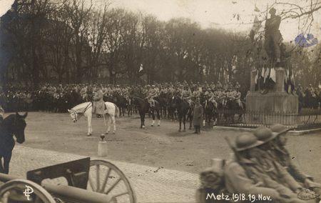 [Metz 19 novembre 1918. Maréchal Pétain]