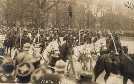 [Metz 19 novembre 1918. Cavalerie française]