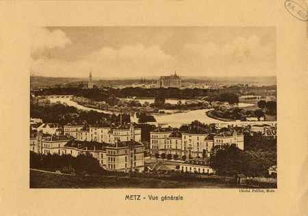 Metz. Vue générale