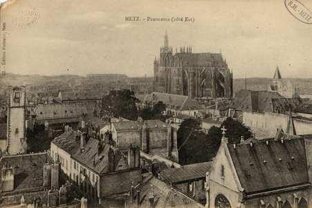 Metz. Panorama (côté Est)