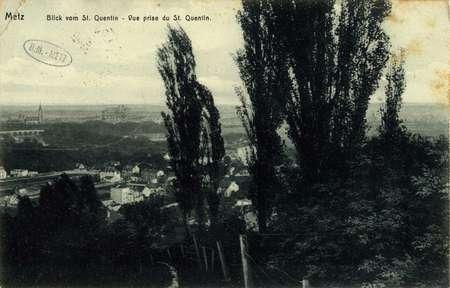 Metz. Vue prise du st. Quentin