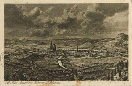 Alt Metz Ansicht von Metz von St Julien aus