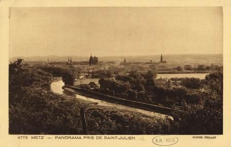 Metz. Panorama pris de saint Julien