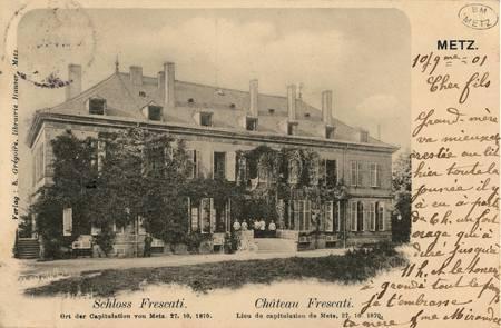 Château Frescati. Lieu de capitulation de Metz, 27. 10. 1870