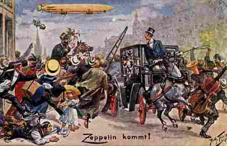 Zeppelin Kommt !