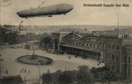 Reichsluftdchiff Zeppelin über Metz