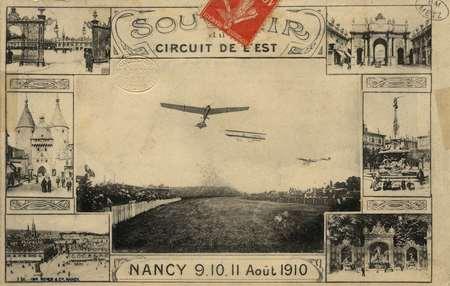 Souvenir du Circuit de l'EST (Nancy) 9.10.11 Août 1910