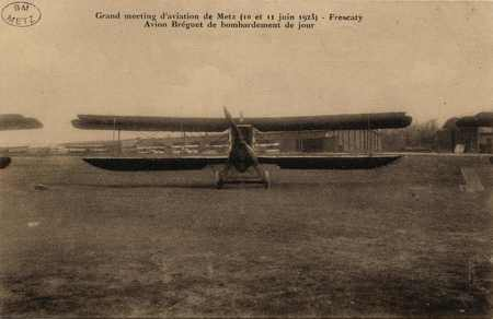 Grand meeting d'aviation de Metz (10 et 11 juin 1923)- Frescaty Avion Brég…