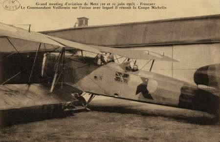 Grand meeting d'aviation de Metz (10 et 11 juin 1923)- Frescaty Le command…