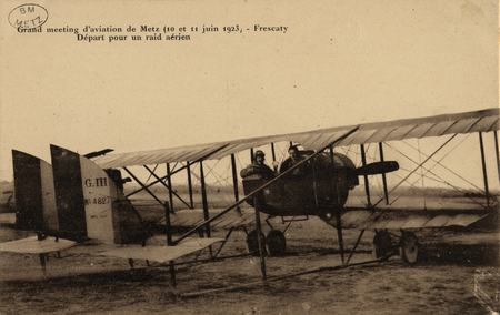 Grand meeting d'aviation de Metz (10 et 11 juin 1923)- Frescaty Départ pou…