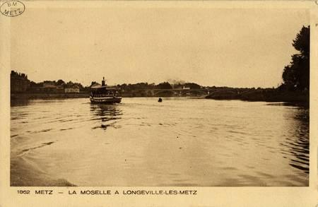 Metz- La Moselle à Longeville-les-Metz