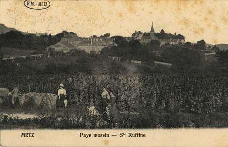 Metz Pays messin- Ste Ruffine