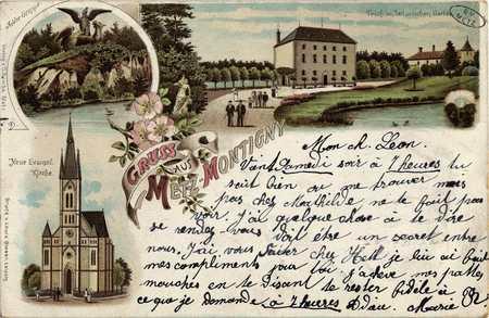 Gruss aus Metz Montigny
