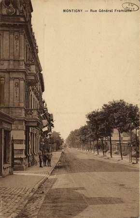 Montigny. Rue Général Framiatte
