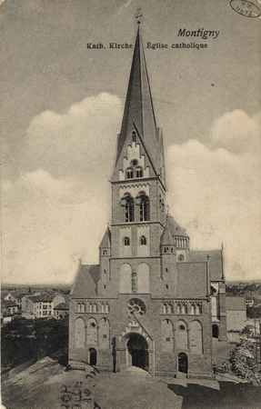 Montigny. Kath. Kirche. Église catholique