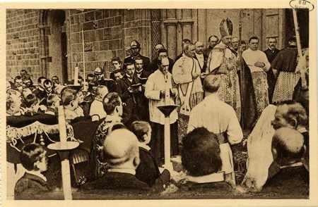 Montigny-les-Metz. Nouvelle Église. Consécration le 29 Juillet 1906