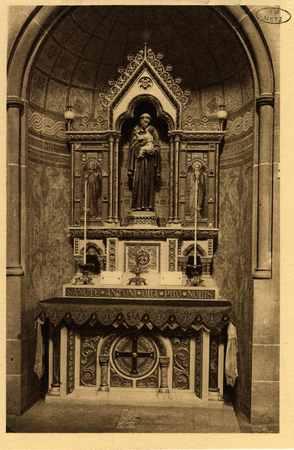 Montigny-les-Metz. Église. - Autel de Saint Antoine de Padoue