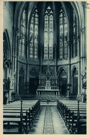 Montigny-les-Metz. Couvent du sacré Cœur. La Chapelle