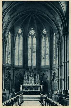Montigny-lès-Metz. Petit séminaire - Intérieur de la Chapelle