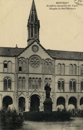 Montigny.  Bischöfliches Gymnasium Die Kapelle. Chapelle du Petit Séminaire