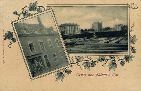 Gruss aus Sablon b. Metz