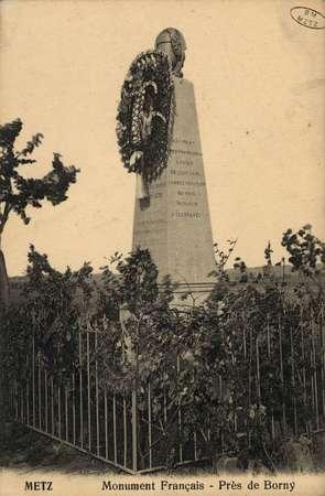 Metz Monument Français - Près de Borny