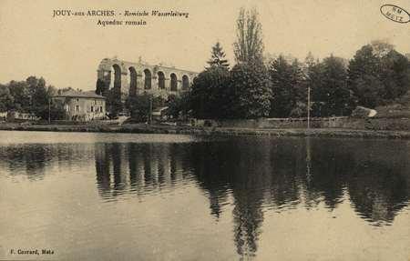 Jouy-aux-Arches.- Römische Wasserleitung.- Aqueduc romain