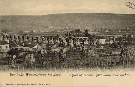 Römische Wasserleitung bei Jouy- Aqueduc romain près Jouy aux arches