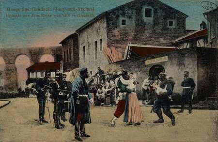 Gruss aus Gaudach (Jouy-aux-Arches) Episode aus dem Krieg von 1870 in Gaud…
