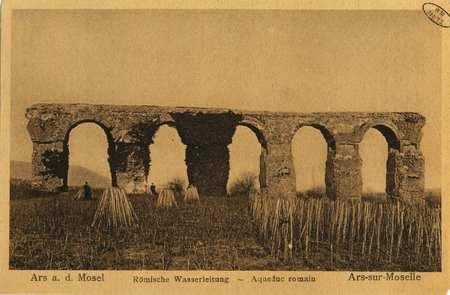 Ars a. d.Mosel.Römische Wasserleitung - Aqueduc romain. Ars-sur-Moselle.