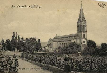 Ars-sur-Moselle. Kirche- Église
