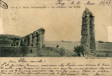 Ars-sur-Moselle. Aqueduc romain